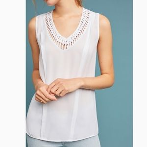 Anthropologie Maeve La Vista Flowy Tank